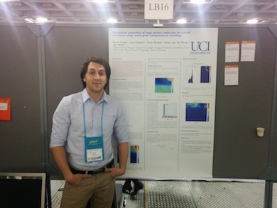 Derek at Biophysical Society 2014 (San Francisco)